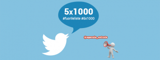#Fuorileliste, il tweet bombing contro l'Agenzia delle Entrate per il 5 per mille